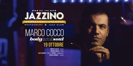 Marco Cocco Quartet - Live at Jazzino tickets