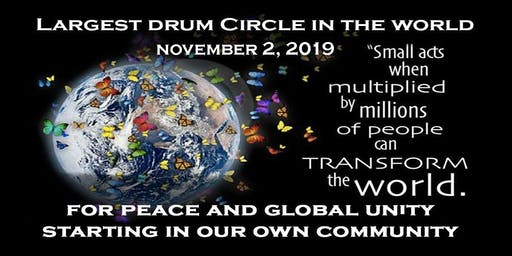 """""""Largest Drum Circle in the World"""" For Peace and Global Unity"""
