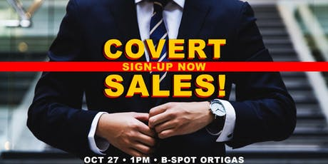 COVERT SALES with NLP and Conversational Hypnosis tickets