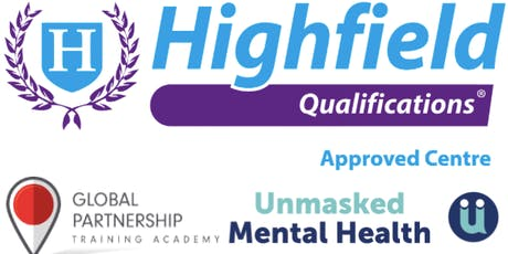 Highfield Level 2 Award in Introduction to First Aid for Mental Health RQF tickets