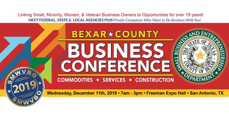 Bexar County Business Conference 2019 - Commodities, Services, Construction tickets