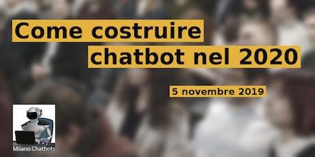 MILANO Meetup #AperiTech di Milano Chatbots biglietti