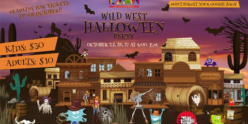 Wild West PLAYTOWN Halloween Party 2019