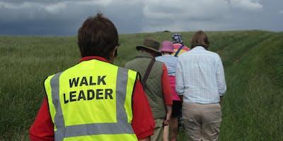 Walk Leader Training Course - Huddersfield Fire Station
