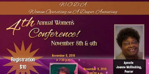 4th Annual Women's Conference