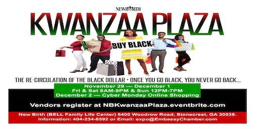 New Birth Kwanzaa Plaza Powered by Embassy International Chamber of Commerce