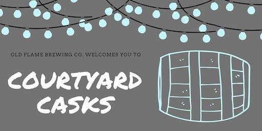 Courtyard Casks