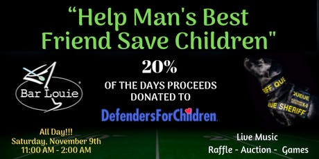 Help K9s Rescue Children From Abuse tickets