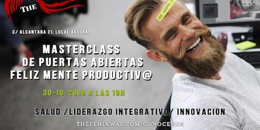 MasterClass de Puertas Abiertas Feliz Mente Productiv@