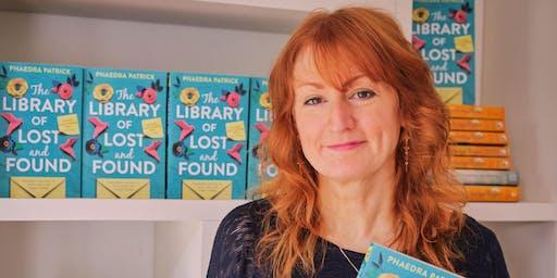 Meet the Author - Phaedra Patrick (Lancaster) #authorvisit
