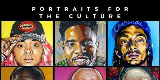Popup art Installation by: Portraits for the culture