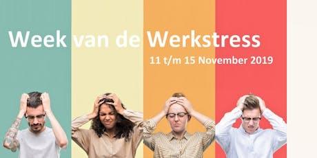 Week van de Werkstress - Kick-Off Workshop tickets
