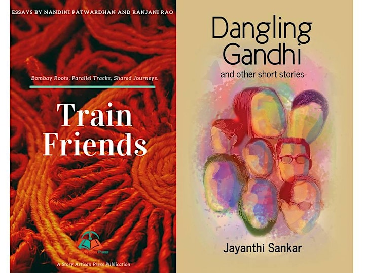 Book Launch - Train Friends (essays) AND Dangling Gandhi  (short stories) image