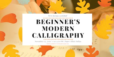 Learn Modern Calligraphy with Words Made Semple