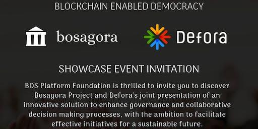 BOSAGORA - Blockchain & Democracy