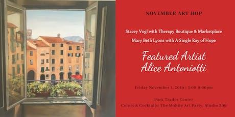 November Art Hop: Featuring Artist Alice Antoniotti & Vendor Pop Up! tickets