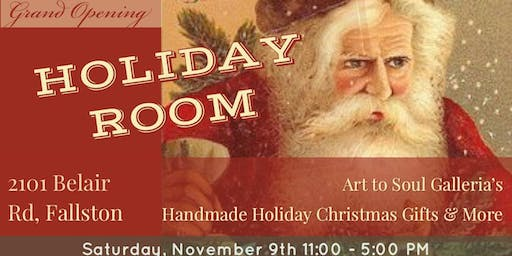 Art to Soul's Handmade for the Holiday's Christmas Craft Room Grand Opening