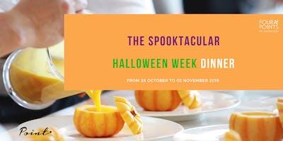 The Spooktacular Halloween Week Dinner