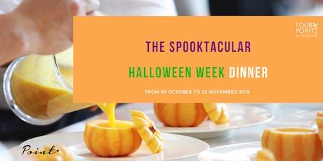 The Spooktacular Halloween Week Dinner biglietti