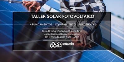 Taller Solar Fotovoltaico CABA //Octubre 2019