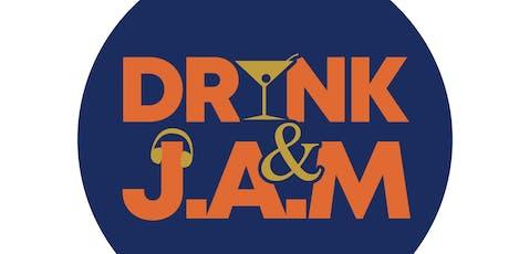 Sunday Drink & J.A.M. Mixer tickets
