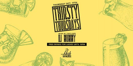 Thirsty Thursday at The Hub tickets