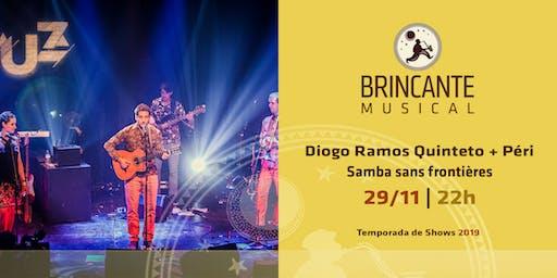 Brincante Musical | Diogo Ramos Quinteto + Péri