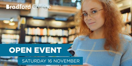 Bradford College and University Centre Open Event - 16 November 2019 tickets