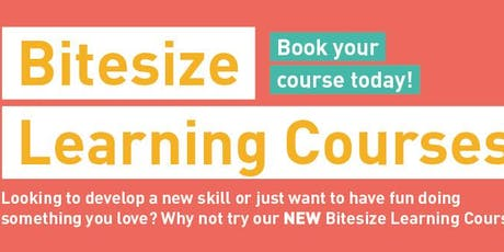 Bitesize Learning - Waxing For Beginners tickets