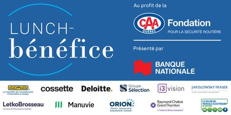 Lunch-bénéfice 2019 de la Fondation CAA-Québec billets
