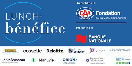 Lunch-bénéfice 2019 de la Fondation CAA-Québec