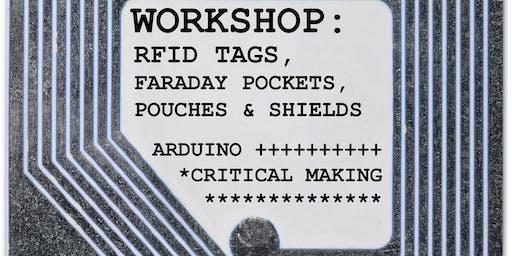 Cliona Harmey - RFID Tags, Faraday Pouches, Pockets & Shields workshop