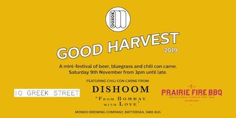 Mondo & Friends Present: Good Harvest tickets