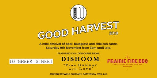 Mondo & Friends Present: Good Harvest