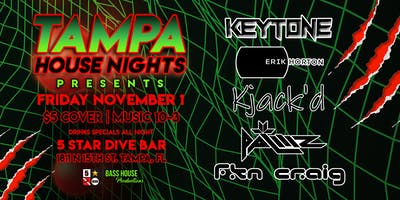 11-1 First Friday's with Tampa House Nights