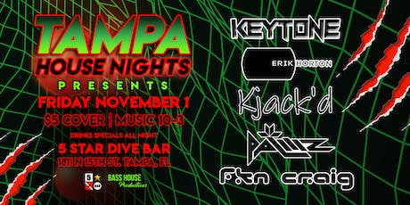 11-1 First Friday's with Tampa House Nights tickets