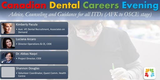 Canadian Dental Careers Evening