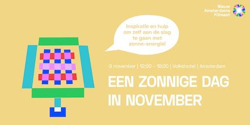 Nieuw Amsterdams Klimaat presenteert: Een zonnige dag in november