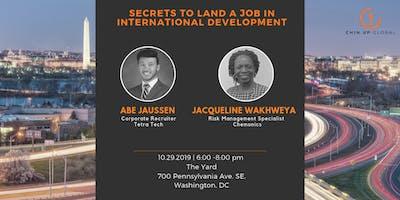 Secrets to Land a Job in International Development