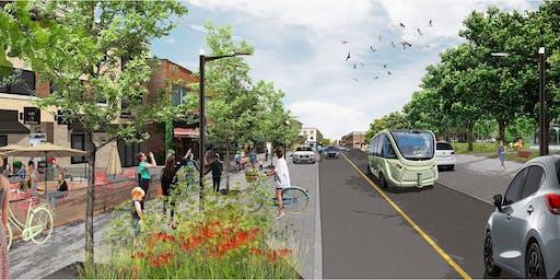 Soirée d'ateliers : ambiance des rues et  aménagements des places publiques