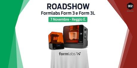 Roadshow Formlabs : Form 3 e 3L – 3DZ Emilia biglietti