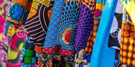 Afrikaanse stoffen trip tickets