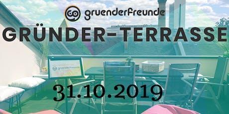 Gründerterrasse: Die Networkingveranstaltung für Gründer&Startups Tickets