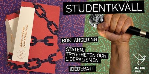 Studentkväll på Timbro - En kväll om staten, tryggheten och liberalismen
