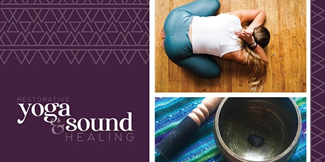 Restorative Yoga + Sound Healing tickets