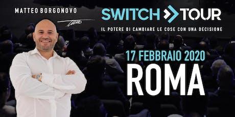 SWITCH TOUR ROMA biglietti