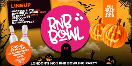 RnB Bowl - Halloween Special tickets