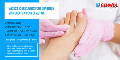 Assess Clients Foot Condition and Create a Plan of Action at the O.N.E Oregon Nail Expo