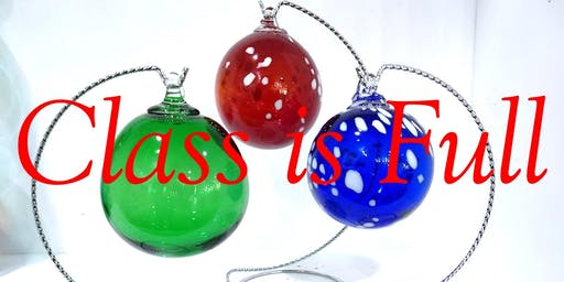 Blow Your Own Glass Ornament - Friday, November 15 at 1:00pm