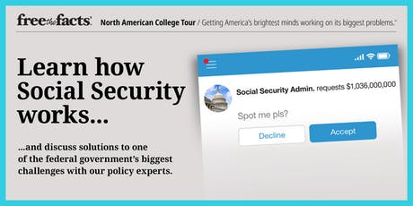 Free the Facts @ Dartmouth College: Learn About Social Security tickets